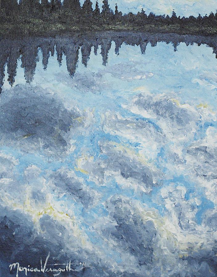 Backwater Reflections Painting
