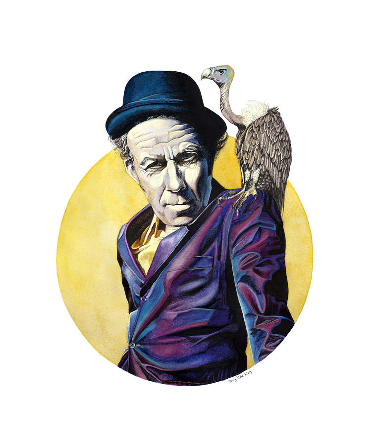 Tomwaits Painting - Bad As Me by Kelly Jade King