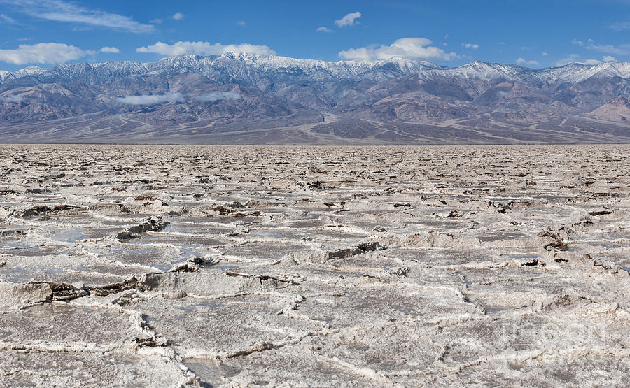 Badwater Basin - Death Valley Photograph  - Badwater Basin - Death Valley Fine Art Print