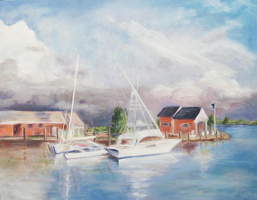 Bahamas Harbor Painting