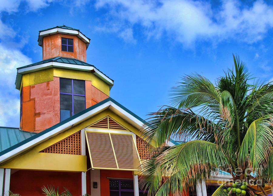 Bahamas Pastels Photograph
