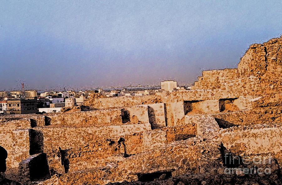 First Star Art Photograph - Bahrain Fort  by First Star Art