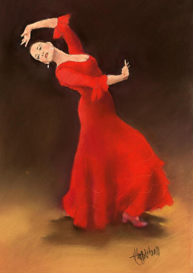 Bailaora Painting