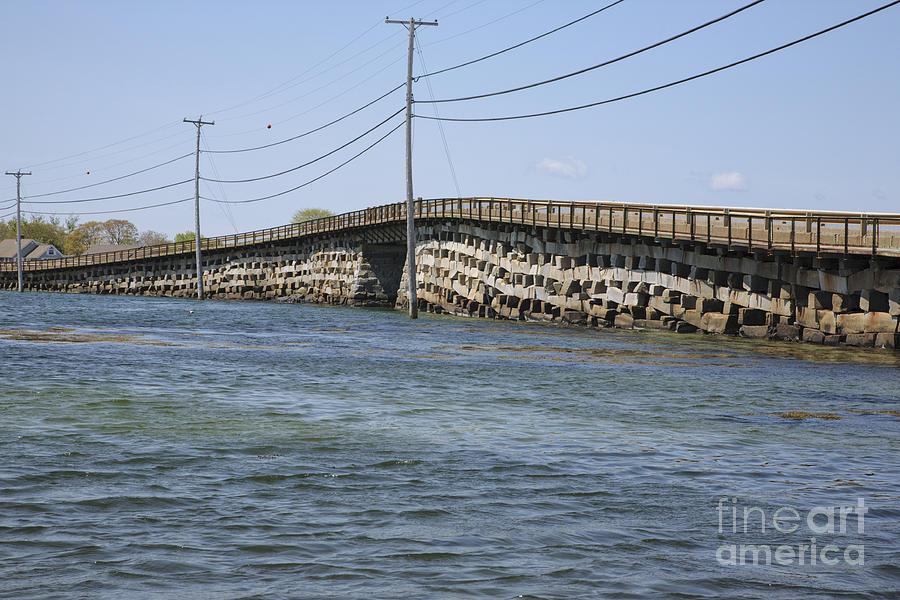 Bailey Island Bridge - Harpswell Maine Photograph