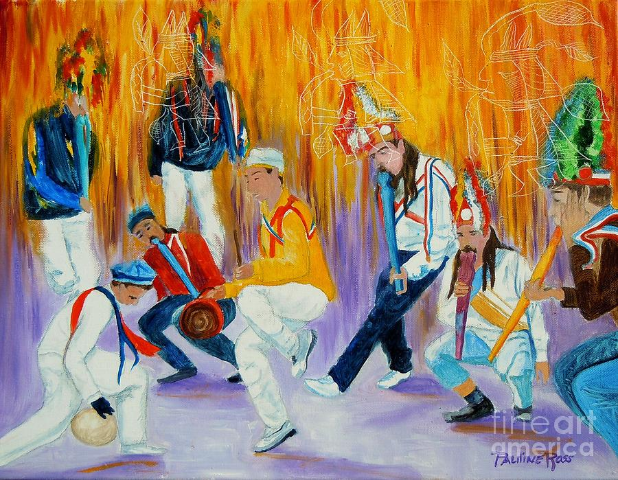 Baileys Chinos Painting - Baileys Chinos Santiago Chile by Pauline Ross