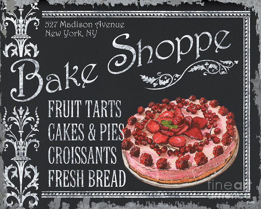 Bake Shoppe Painting  - Bake Shoppe Fine Art Print