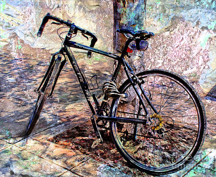Baker City Bicycle Photograph  - Baker City Bicycle Fine Art Print