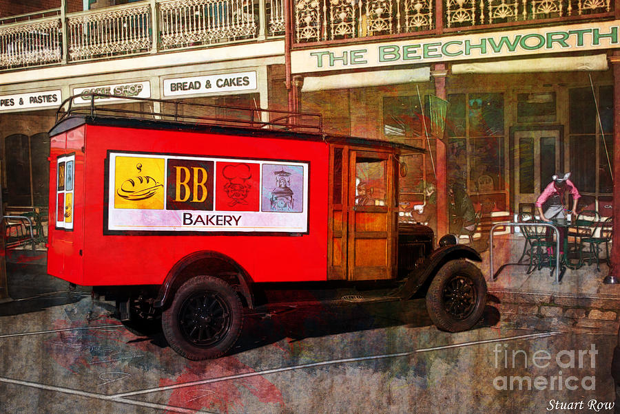 Bakery Delivery Photograph  - Bakery Delivery Fine Art Print