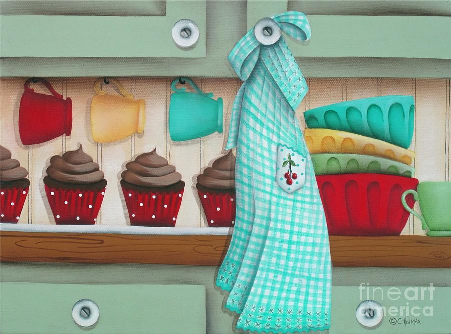 Baking Day Painting  - Baking Day Fine Art Print