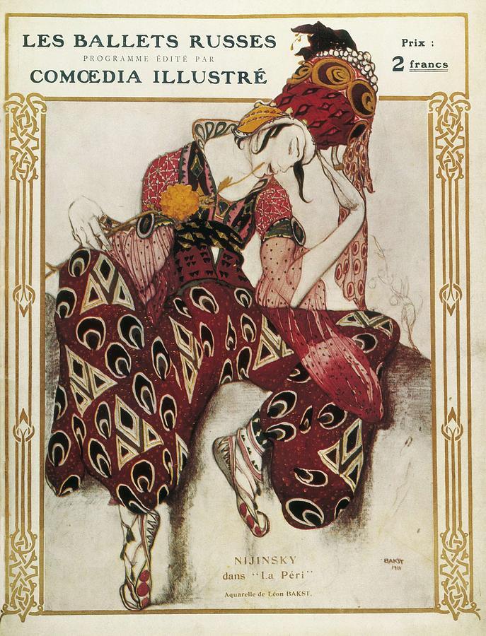 Bakst, L�on 1866-1924. La P�ri. 1911 Photograph