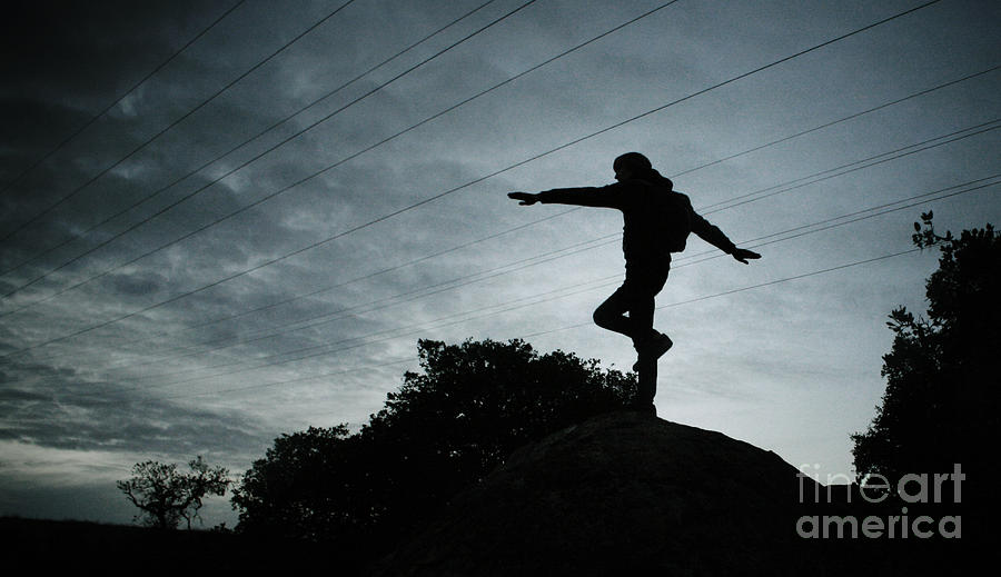 Nature Photograph - Balance by Kyle Walker