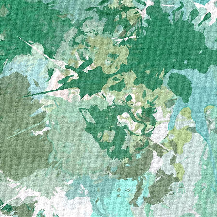 Light Blue Painting - Balance by Lourry Legarde