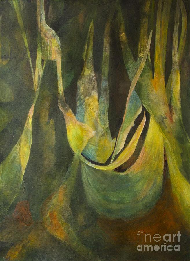 Acrylic Painting - Balance by Olga Zamora
