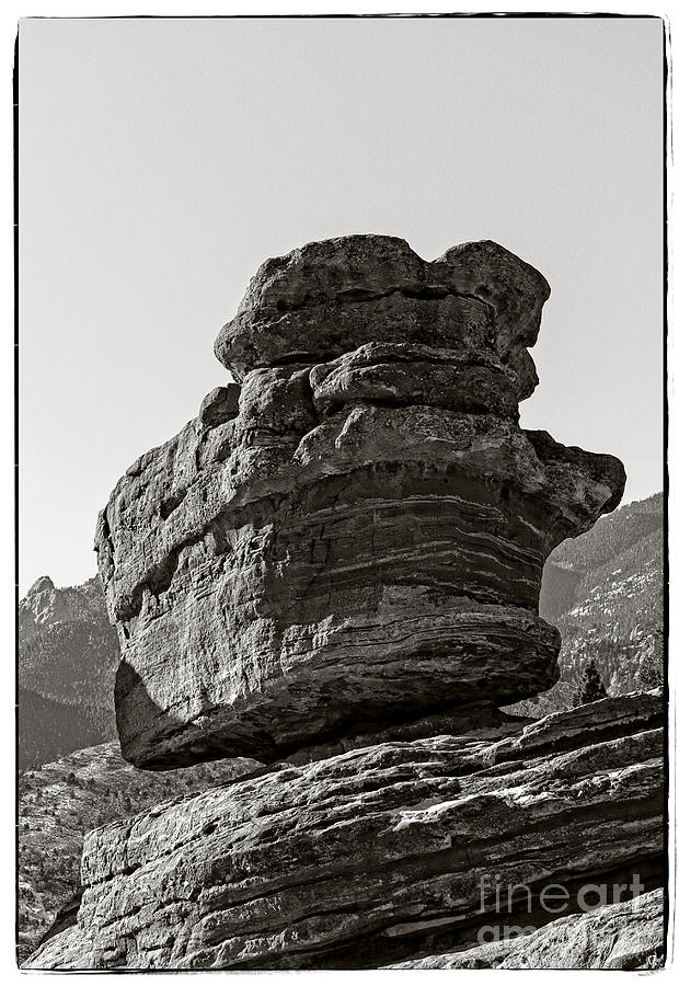 Balanced Rock Photograph  - Balanced Rock Fine Art Print