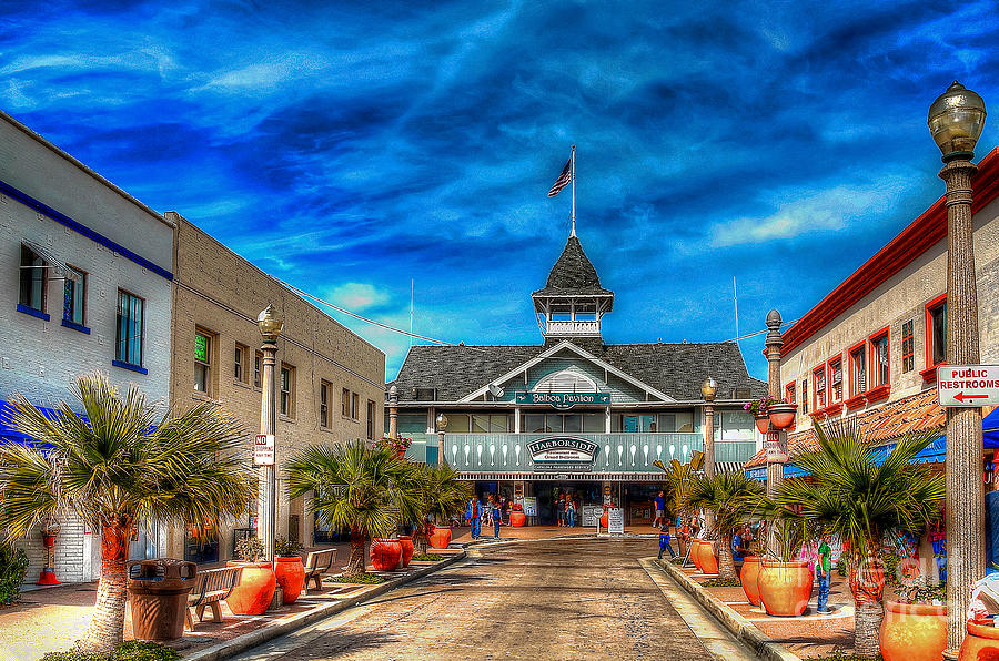 Balboa Photograph - Balboa Pavilion by Jim Carrell