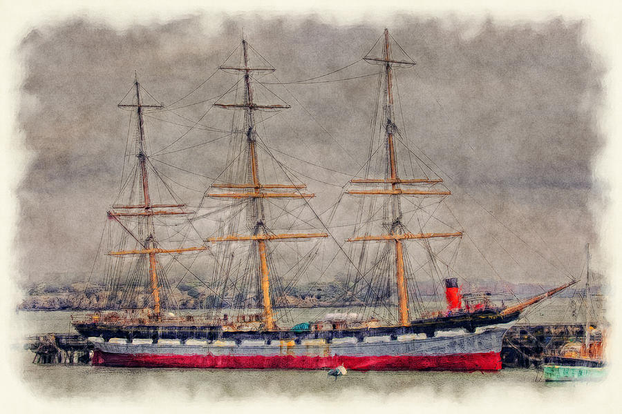 Balclutha Star Of Alaska San Francisco Photograph