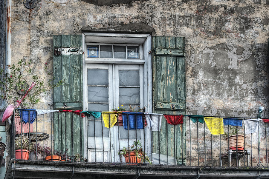 Balcony View Photograph  - Balcony View Fine Art Print