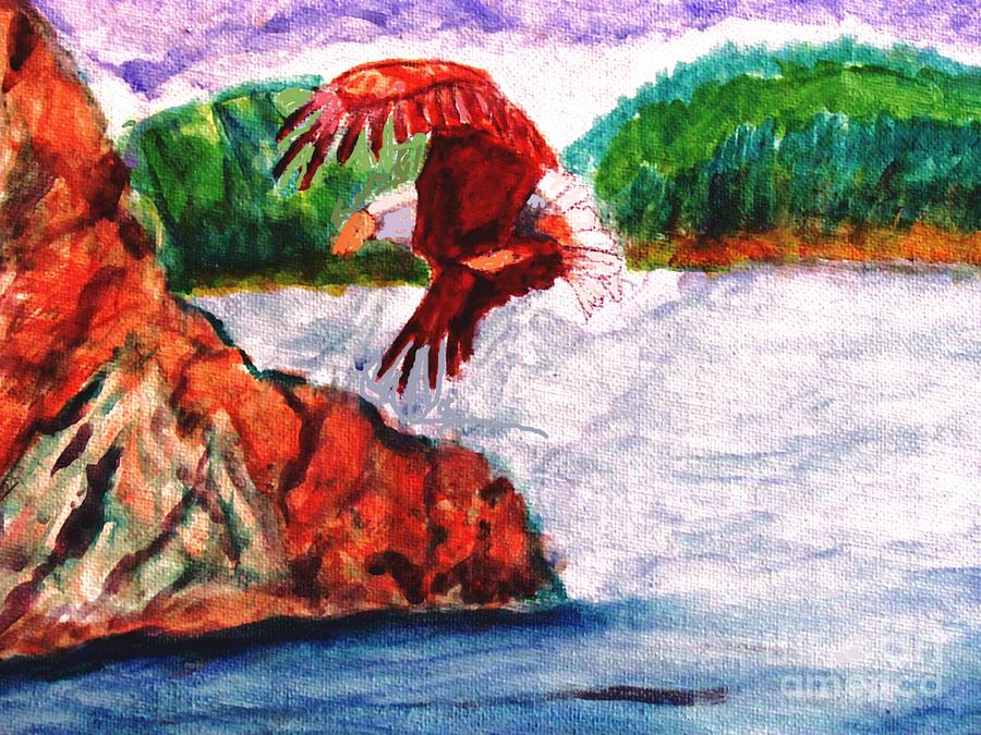 Bald Eagle Painting