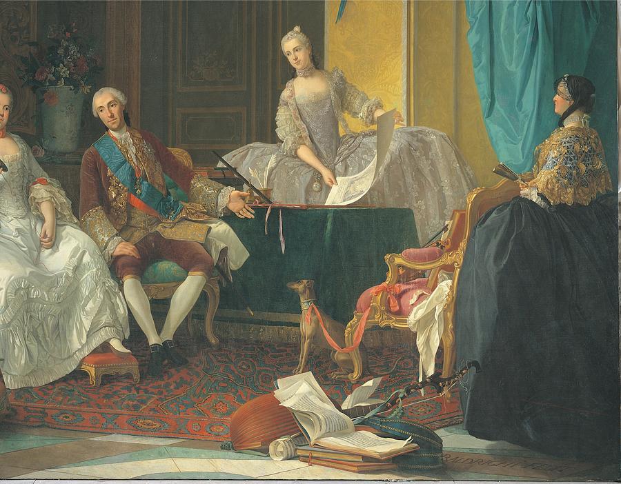 18th Century Photograph - Baldrighi Giuseppe, The Family Of Don by Everett