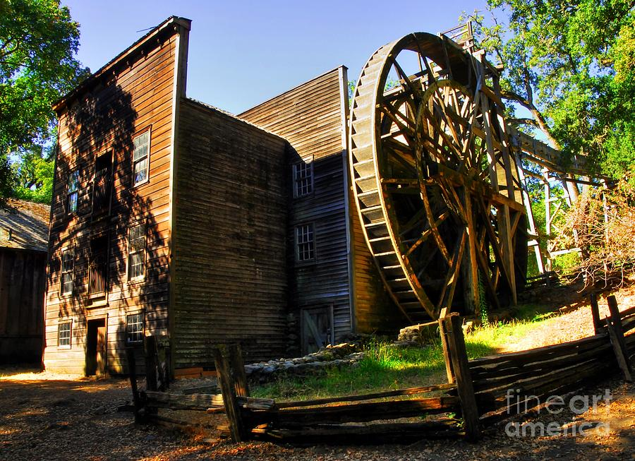 Bale Grist Mill Photograph