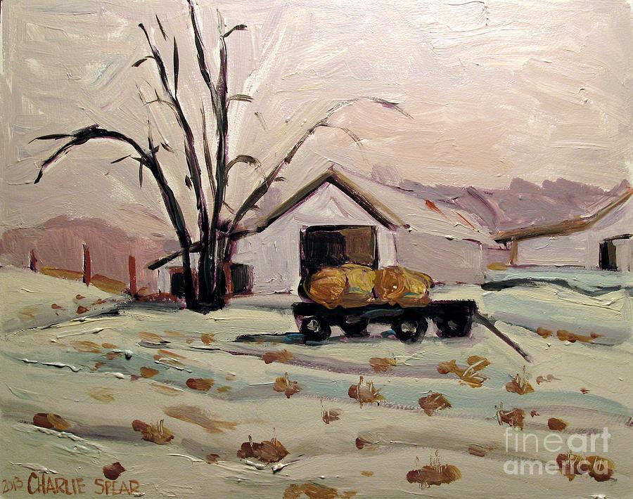 Bale Wagon  Painting