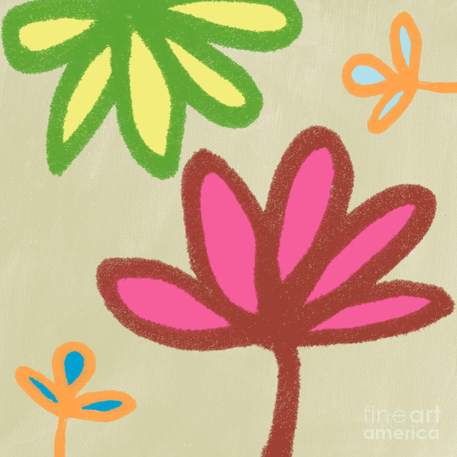 Bali Garden Painting