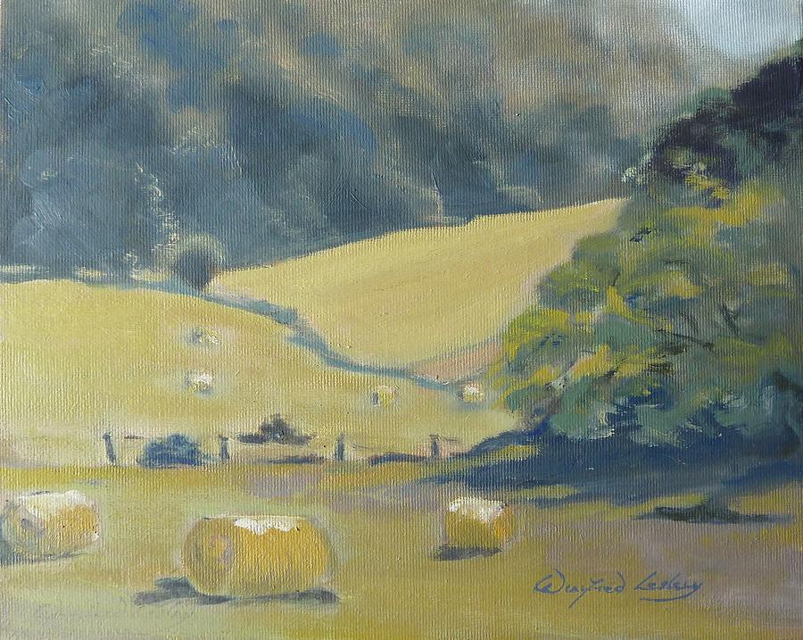 Painting - Baling Season by Winifred Lesley