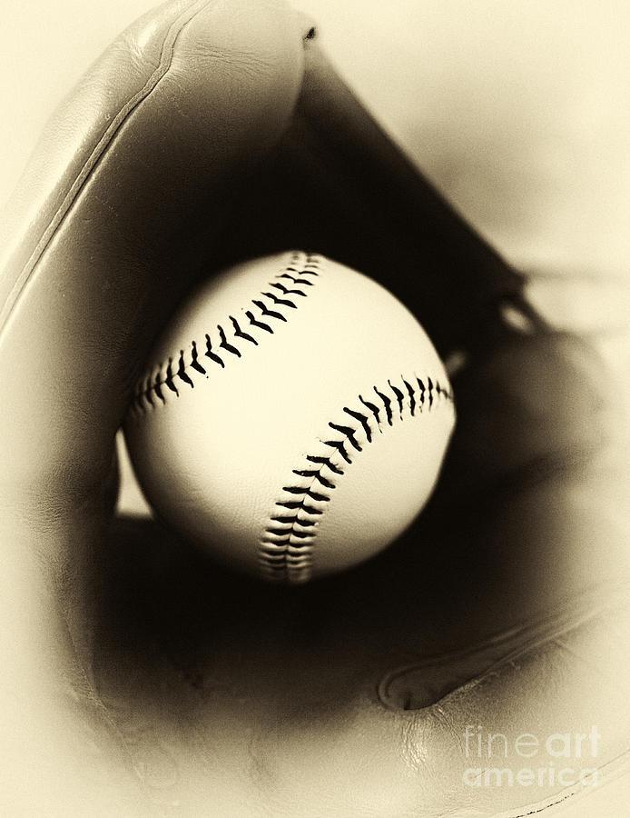 Ball In Glove Photograph