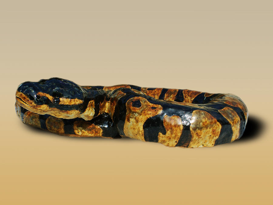 Ball Python Sculpture