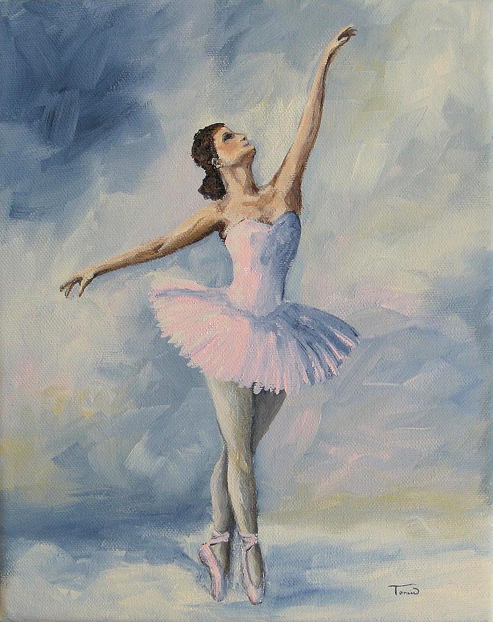 Ballerina Painting - Ballerina 001 by Torrie Smiley