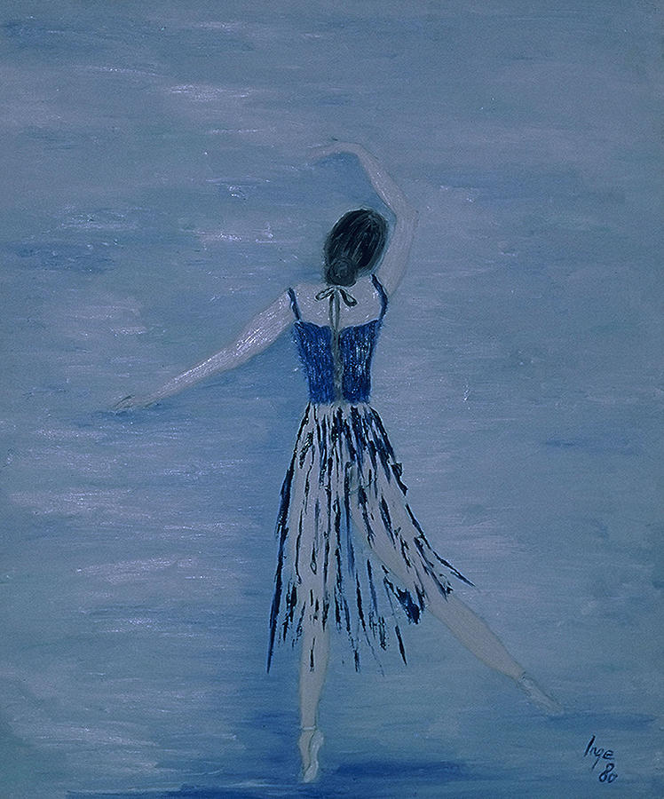 Impressionism Painting - Ballerina by Inge Lewis