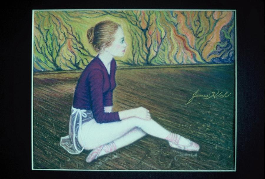 Ballet Pastel - Ballerina by James Welch
