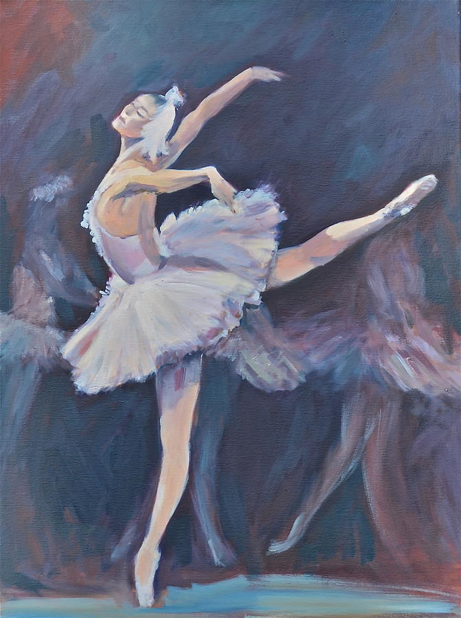 Ballerina Painting by Marzanna Sabo