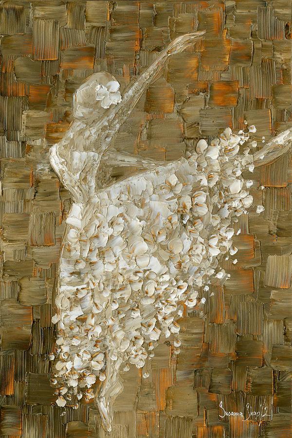 Ballerina Painting By Susanna Shap