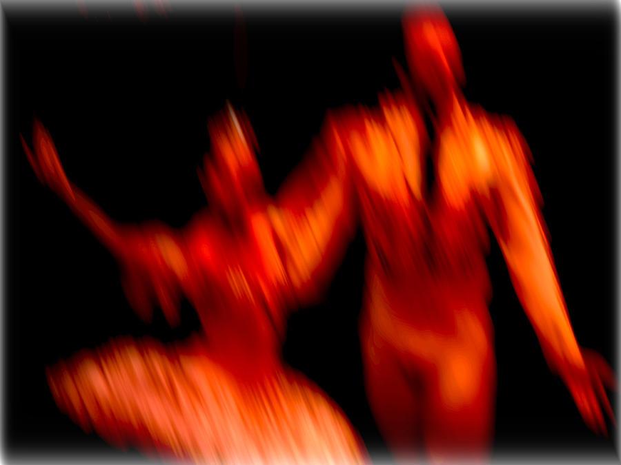 Ballet Blur 1 Photograph