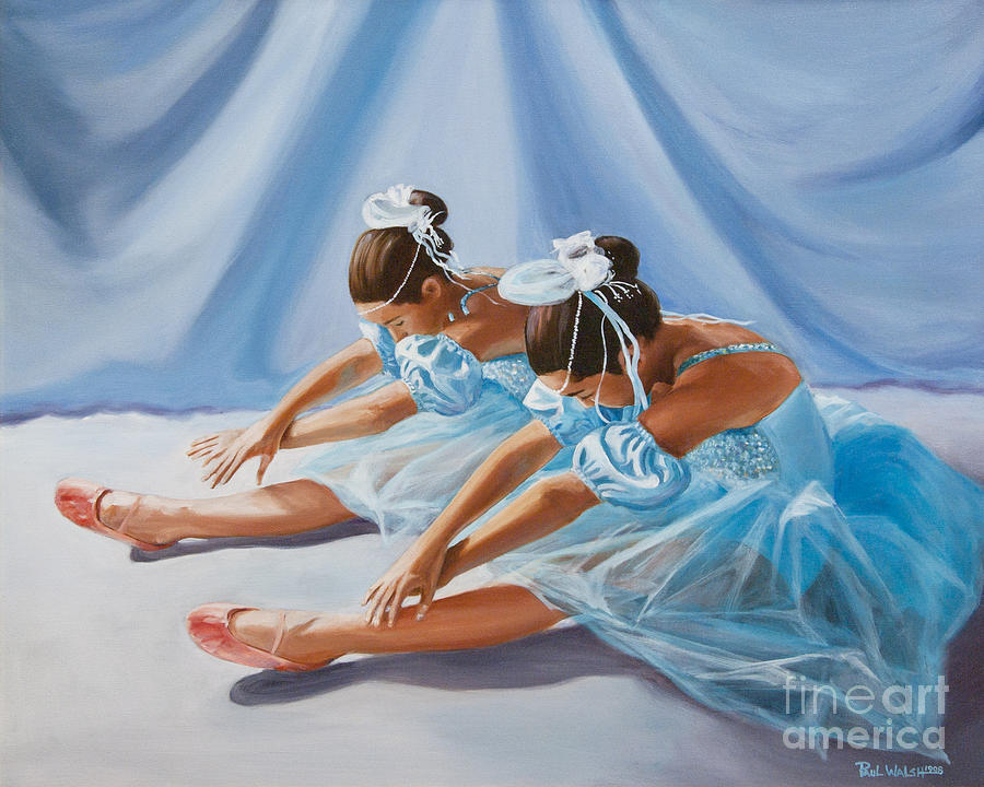 Ballet Dancers Painting - Ballet Dancers by Paul Walsh
