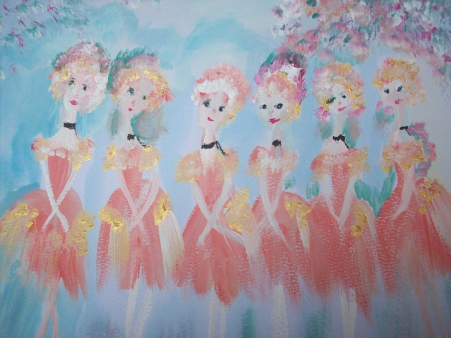 Ballet Group Painting  - Ballet Group Fine Art Print