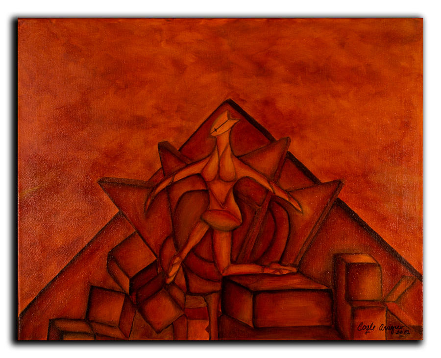 Ballet Painting - Ballet II by Coqle Aragrev