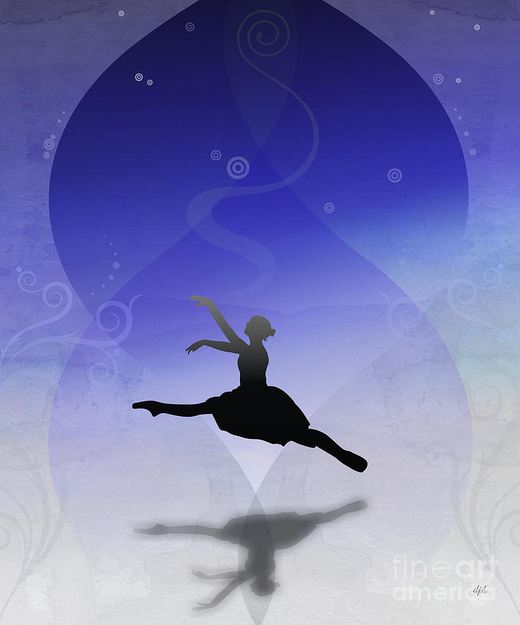 Ballet In Solitude  Digital Art  - Ballet In Solitude  Fine Art Print