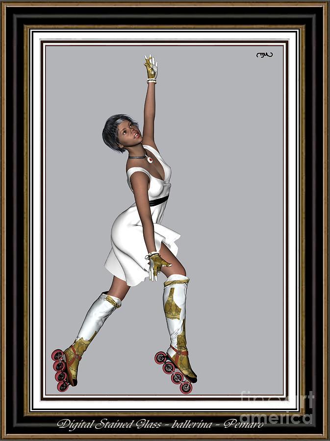Modern Painting  Painting - Ballet On Skates 5bos2 by Pemaro
