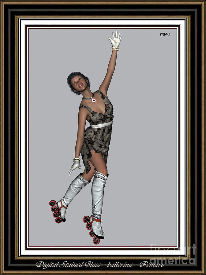 Ballet On Skates 8bos2 Painting