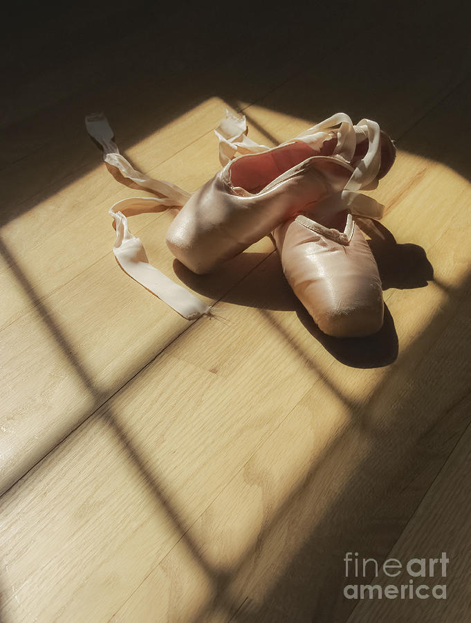 Ballet Slippers Photograph  - Ballet Slippers Fine Art Print