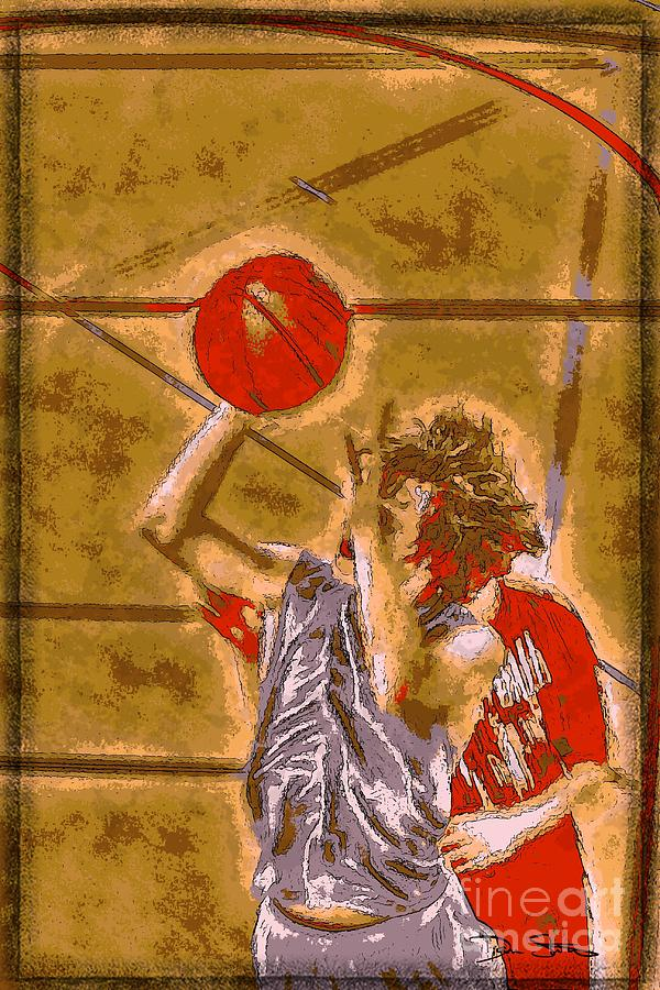 Ballin It Up Digital Art  - Ballin It Up Fine Art Print