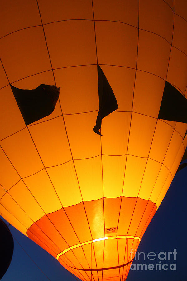 Ballon-glowyellow-7703 Photograph