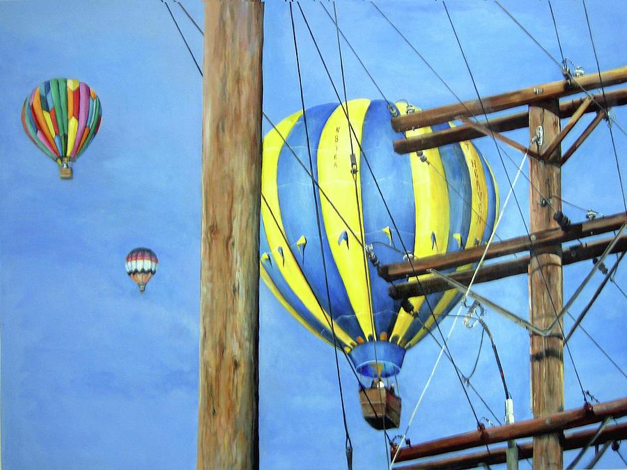Balloon Race Painting