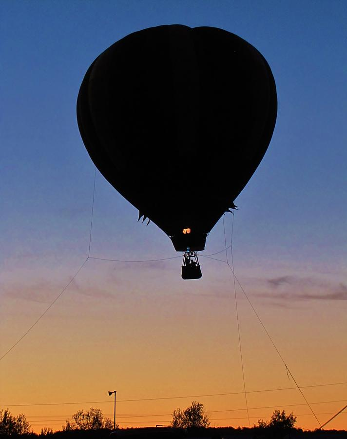 Balloon Silhouette Photograph