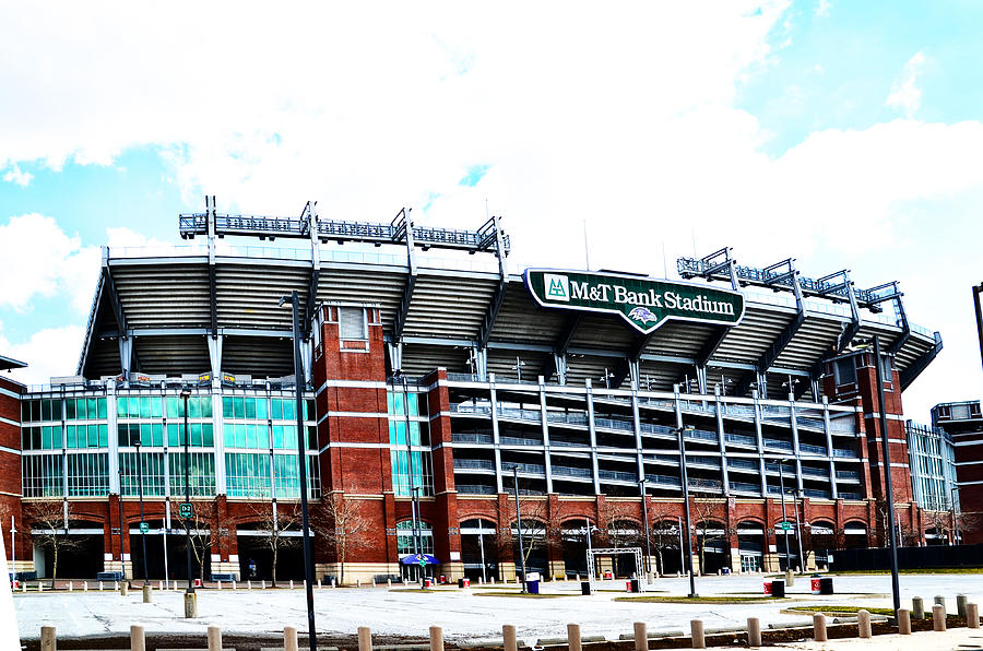 Baltimore Ravens - M And T Bank Stadium Photograph by Bill