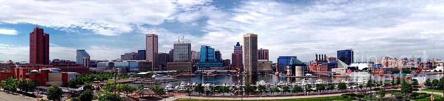 Baltimore Skyline Photograph