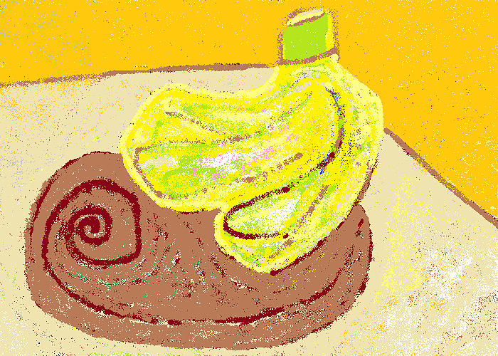 Bananas From Paphos 3 Painting