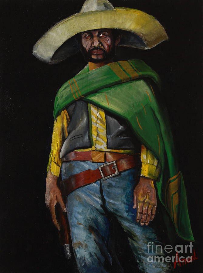 Bandito Painting By George Ameal Wilson